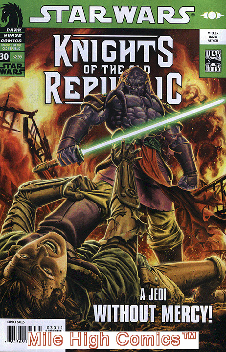 STAR WARS: KNIGHTS OF THE OLD REPUBLIC (2005 Series) #30 Very Fine Comics Book