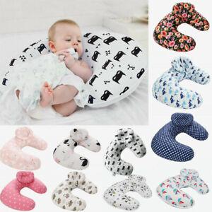 U-Shape-Newborn-Baby-Nursing-Breastfeeding-Head-Pillow-Cover-Slipcover-13-Types