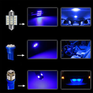 13X-T10-31MM-12SMD-LED-Bulbs-Car-Interior-Map-Dome-License-Plate-Light-Lamp-Kit