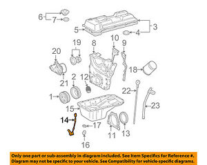 toyota oem 95 03 tacoma engine crankshaft crank position sensor cps rh ebay com 04 Tacoma Lifted 99 Toyota Tacoma Rims