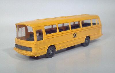 CD Wiking Mercedes Benz O302 Postal PTT Coach 1:87 Gauge City Transit Bus