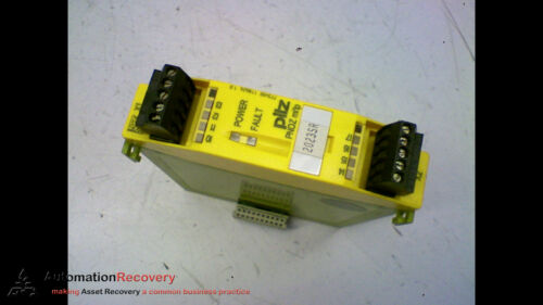 PILZ 773400, PNOZ MI1P, 24VDC/8MA, EXPANSION MODULE, 8 INPUTS #165929