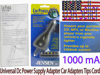 Universal 12 V Dc Power Supply Car Adapters Converters With Tips 1000 Am