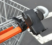 Grocery Store Shopping Cart Holder Mount For Cell Phone, Smartphone, Apple Ipod