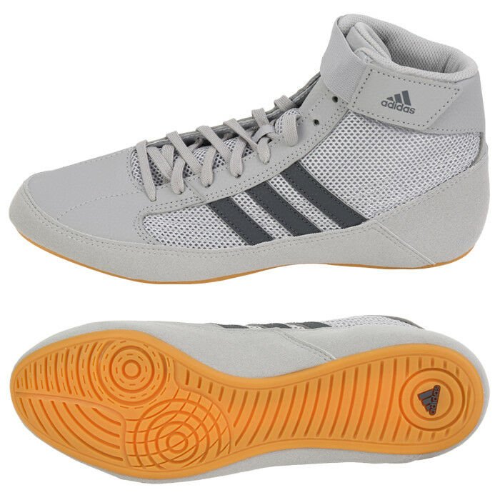 Adidas HVC Wrestling shoes (AC7502) Boxer MMA Ring  Sparring Boxing Boots  cheap and top quality