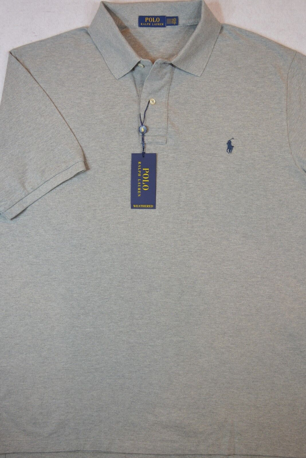 7ff39b0d Polo Ralph Lauren Weathered Mesh Shirt LT & XLT NWT orggpl25619 ...