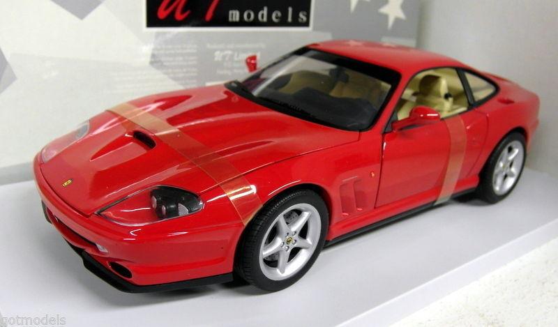NT MODELS 1 18 FERRARI 550 MARANELLO 1996 ROSSA ART.  180 076020