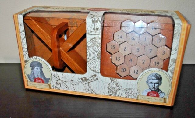 Great Minds Aristotles Number Classic Wooden Puzzle