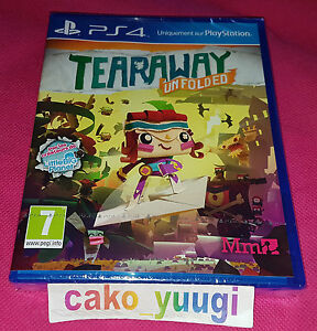 TEARAWAY-UNFOLDED-SONY-PS4-NEUF-SOUS-BLISTER-VERSION-100-FRANCAISE
