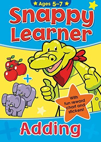 SNAPPY LEARNER CHILDRENS LEARNING EDUCATIONAL BOOKS SOFT COVER 5 - 7 YEARS - ADD