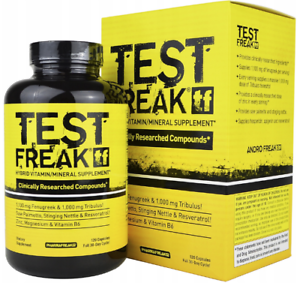 Pharma-Freak-Test-Freak-120-Kapseln-Testosteron-Booster-Anabole-Muskelaufbau