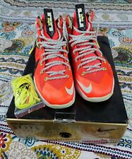 06f689ff1de item 5 Lebron James Nike Air 10 X PS Elite Crimson Mens 10.5 Basketball  Shoes Orange -Lebron James Nike Air 10 X PS Elite Crimson Mens 10.5  Basketball Shoes ...
