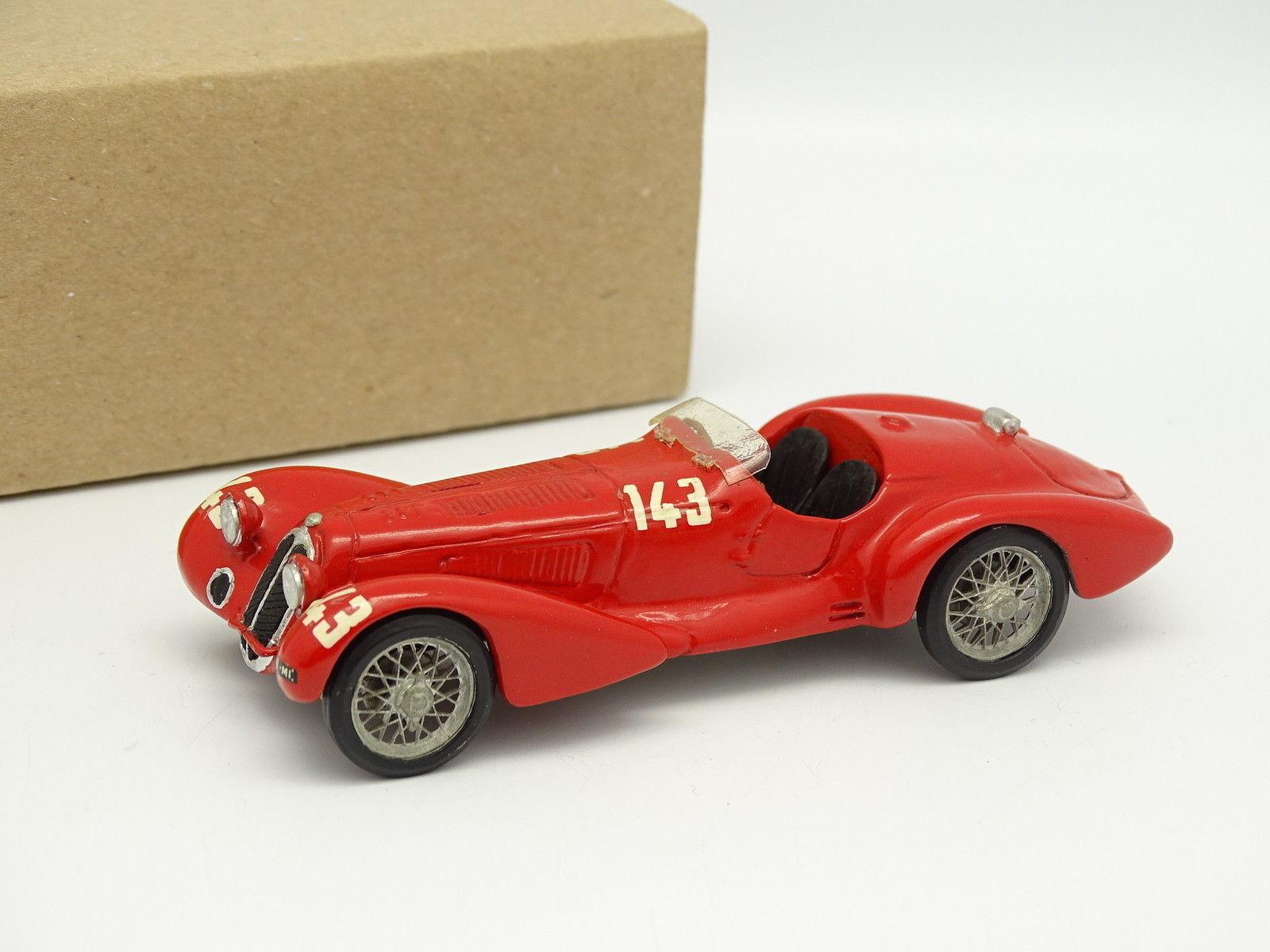 IDEA3  Kit monté Métal 1 43 - Alfa Romeo 8C 2900B Mille Miglia 1938 N°143
