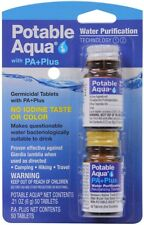 Potable Aqua PA Plus Water Purification Treatment Tablets