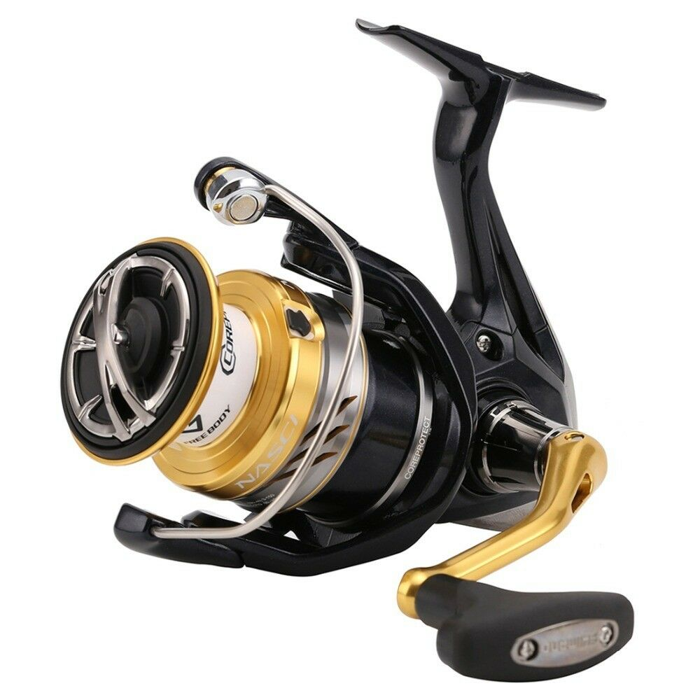 Shimano Nasci C 3000 HG FB compact spinning reel with front drag, NASC3000HGFB