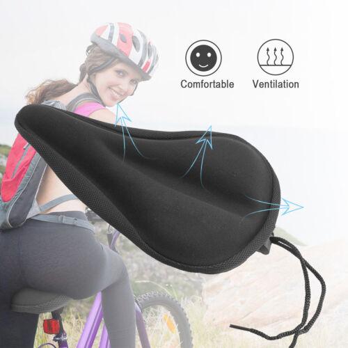 Soft Vélo Silicon Gel Housse de siège-Plus Confortable Vélo Selle Coussin Spin