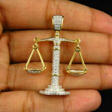 In Car Scales of Justice Balance Charm Pendant /&  Wooden Beads Libra JP Souvenir