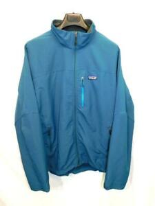 Patagonia-XXL-2X-Mens-Blue-Simple-Guide-Jacket-Full-Zip-Soft-Shell-Stretch-Woven