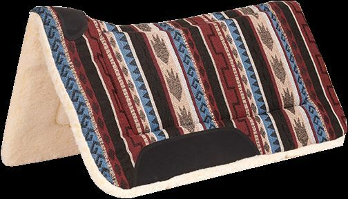 Mustang contourojo South-West pad 1665-ls westernpad
