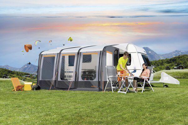 Wohnwagenvorzelt Luftvorzelt Vorzelt Luftzelt Caravan Zelt Aerolight 2 390x240cm