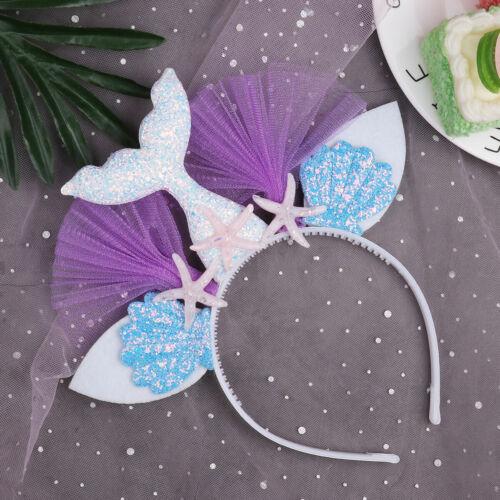 Adorable Shiny Headband Girls Hair Hoops Headdress Cosplay Costume Party Props