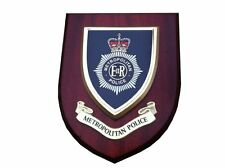 Metropolitan Police Wall Plaque Helmet Badge Design