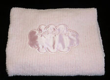 Pink Chenille Crib Clouds Security Blanket Lovey Satin Cloud Colorado Clothing