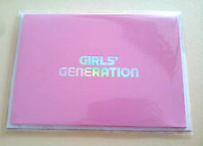 SNSD Girls' Generation SM Town SMTOWN Week Limited Edition Goods - Message Card