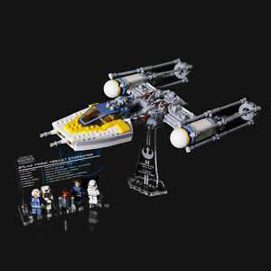 LEGO-75172-Y-wing-Starfighter-Custom-Display-Stand-amp-UCS-Plaque
