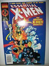 Marvel Collectors Edition. No. 72. Essential X-Men. The Original X-Men Reunited!