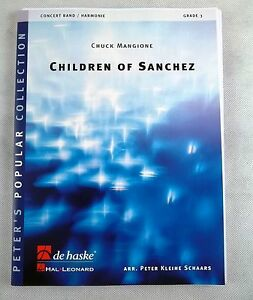 Children-of-Sanchez-Blasmusikausgabe-NOTEN-PARTITUR-BLASMUSIK-BLASORCHESTER
