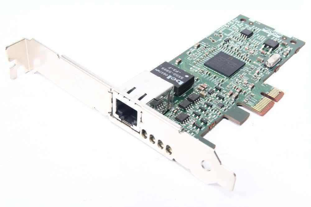 Dell Broadcom 5721 PCI-Express Gigabit One-Port Ethernet Dp/n0HF692 NIC Card
