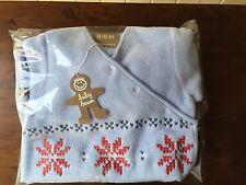 Baby Boum Bjorn Fleece Sleeping Bag 1.7 tog in Sky, 0-9 months