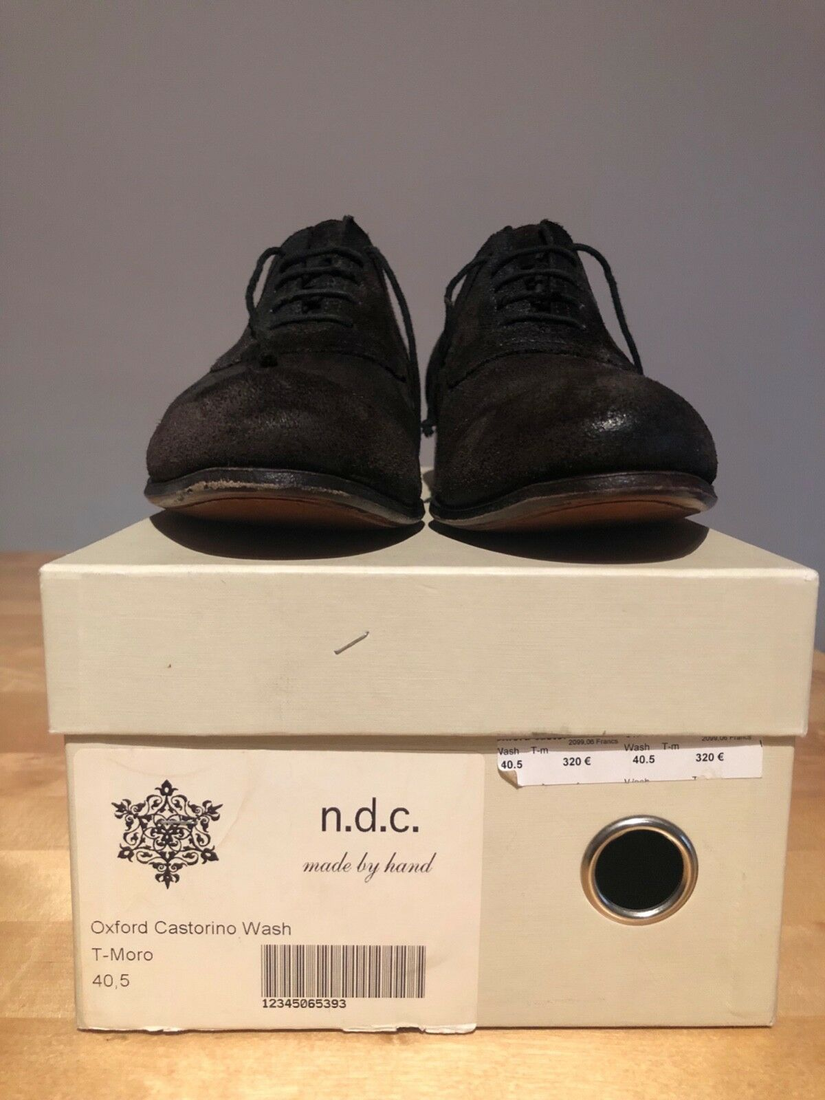 Chaussure N.D.C made by by by hand Dimensione 40,5 71566a