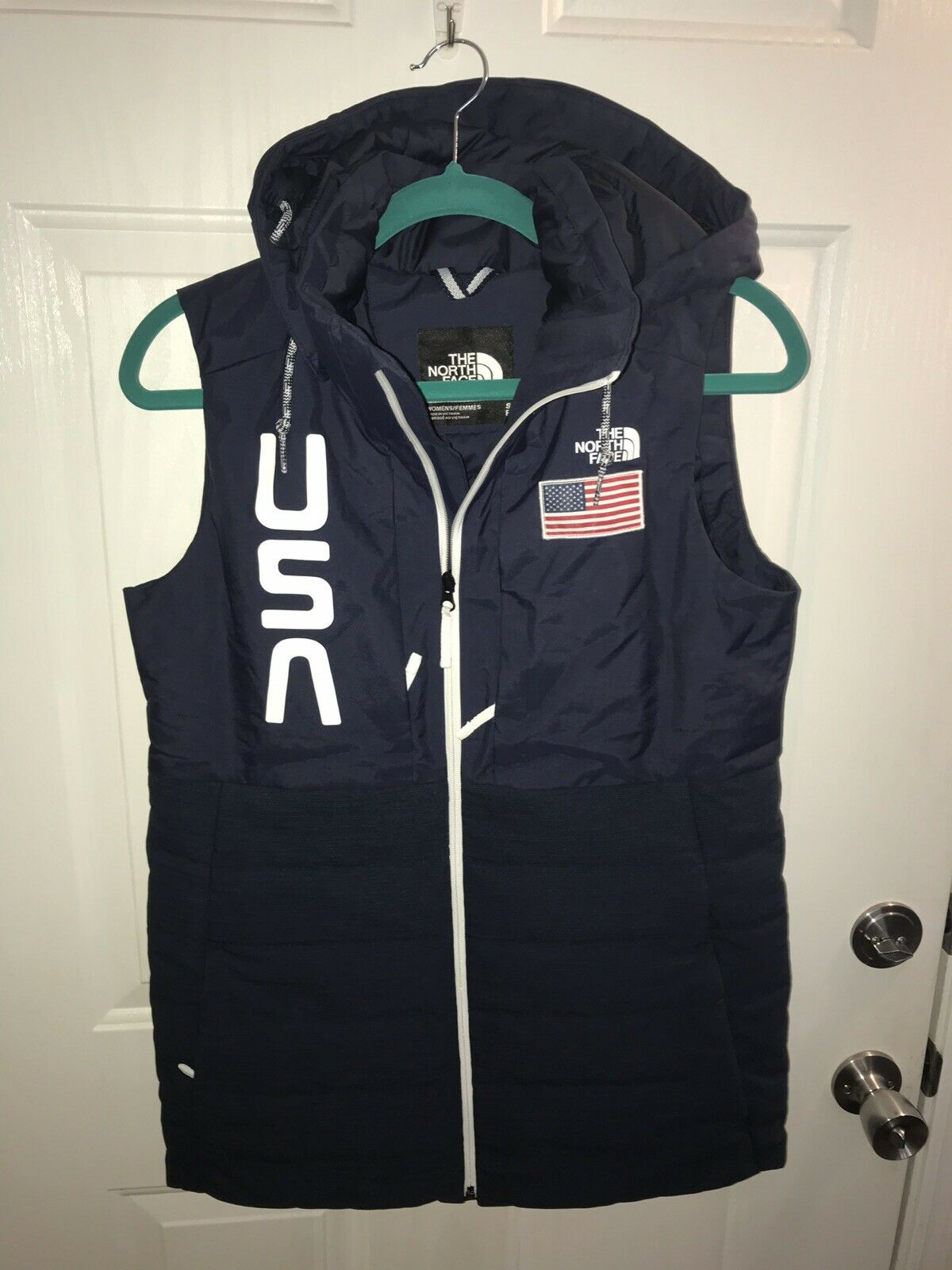 Women's North Face Vest 2018 Olympics Collection Limited Edition Medium NWT