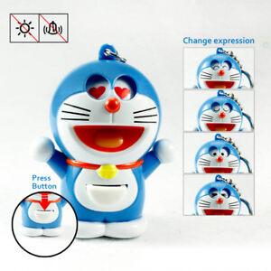Japanese Anime Doraemon Changeable Expression Keychain Key Ring Ornament Gift Ebay