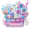 Everything In One Box Unicorn Slime Kit Supplies Stuff FOR Girls Making Slime