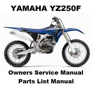 yz250f service manual