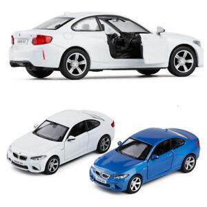 BMW-M2-Massstab-1-36-Die-Cast-Modellauto-Auto-Spielzeug-Model-Pull-Back-Kinder