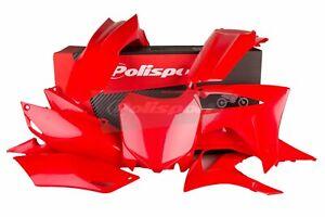 Honda-CRF-250-2014-2015-2016-2017-Polisport-Plastics-Kit-Set-Red-90628