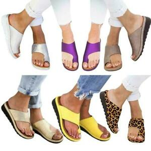Women-039-s-Comfy-Platform-Toe-Ring-Sandals-Bunion-Corrector-Free-Shipping-Shoes