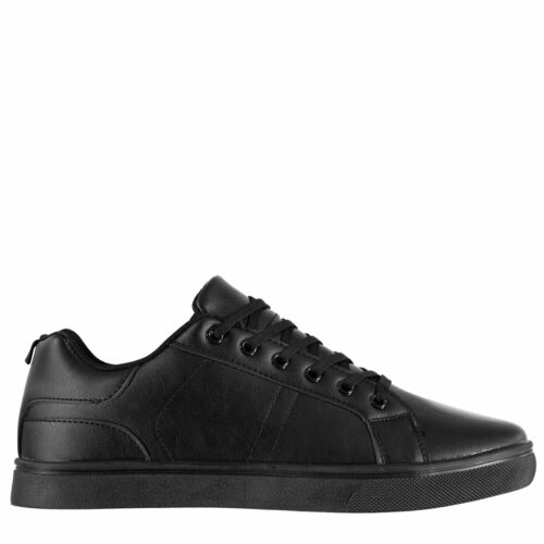 Mens Fabric Low Sneak Trainers New