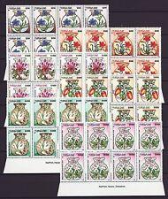 Zimbabwe 2003 Medicinal Herbs Imprint Blocks, MNH (sheet margin)