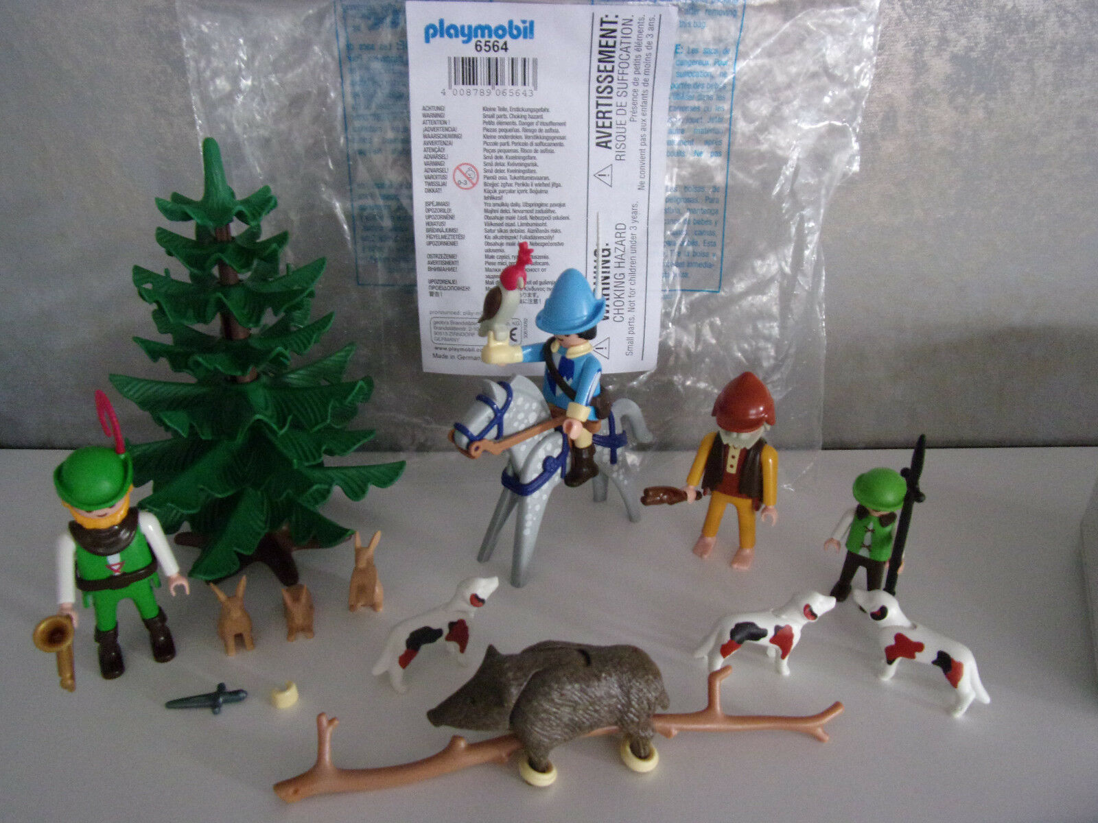 Playmobil Supplements & Accessories - 6564 Hunting Society - Nip