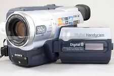 SONY Handycam Digital 8 DCR-TRV140E PAL Camcoder mit Zubehörpaket