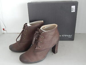 Gr Nubuk Braun Ankle Stiefeletten Winter O'polo 6 39 Leder Plateau Marc Boots 4wzYqF46