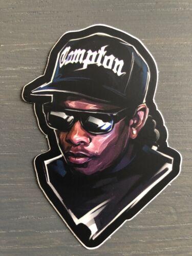 Eazy-E Vinyl Sticker Very High Quality R.I.P HIP HOP Compton NWA