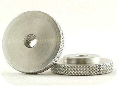 """Knurled Hot Shoe lock Nut 1/4"""" 20 thread WindTech M6  1 1/4"""" Dia One only 5790"""