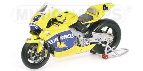 Honda RC211V Team Camel A. Barros MotoGP 2005 1 12 12 12 Model MINICHAMPS b8f94f