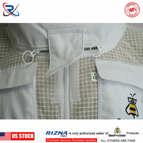 Beepro 3 Layer bee beekeeper beekeeping suit ventilated Astronaut veil@@M
